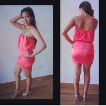 Vestido Morena Rosa Novo, Original!!!!