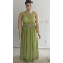 Vestido De Festa Renda Madrinha/formanda Plus Size