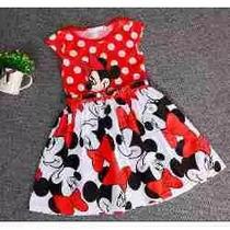 Vestido Infantil Importado Minnie - A Pronta Entrega!