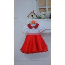 Fantasia Estilizada Infantil - Chapeuzinho Vermelho