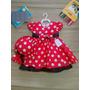 Festa Fantasia Infantil Minnie Mouse Princesa Com Chapéu!