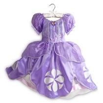 Fantasia Princesa Sofia Vestido - Original Disney - 7/8 Anos