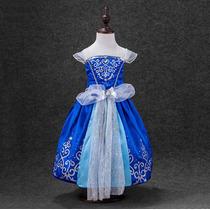 Vestido Fantasia Cinderela À Pronta Entrega