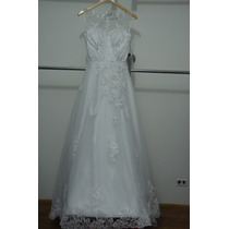 Vestido De Noiva Importado Estilo Princesa
