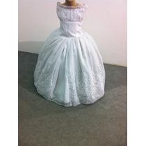 Vestido Dama/princesa/formatura Branco Lindo