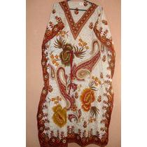Vestido Kaftan Imp, Longo Indiano - 1a Qualidade = G\xg\xxg