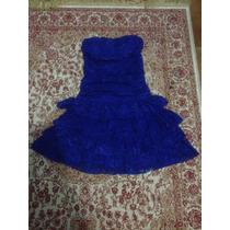 Vestido Azul Tomara Que Caia, Festa, Balada, Casamento Lote