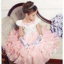 Vestido Festa Infantil Lançamento 2015 Formatura/casamento