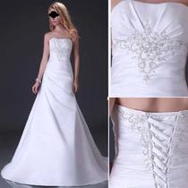 Vestido Noiva + Anágua Pronta Entrega