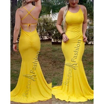 Vestidos Da Moda Sereia Viscolycra Longo Casualtemos Atacado