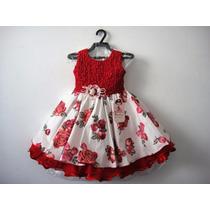 Vestido Infantil Festa Luxo 1056 - Bambina Fashion Promoção