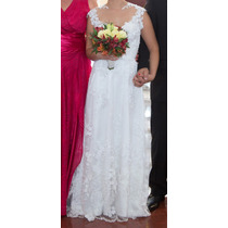 Vestido De Noiva Modelo Exclusivo Em Renda Francesa