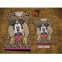 Vestido Atacado Tal Mae Tal Filha Mickey Minnie Curto Moda