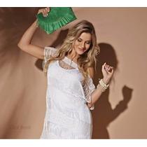 Vestido Branco Maravilhoso Da Graf Novinho Tem Colcci Morena