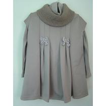 Pituchinhus - Vestido Com Blusa Gola Alta. Temos Lilica