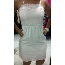 Vestido Branco Comportado Moda Festa Balada Ano Novo
