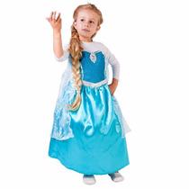 Fantasia Elsa Clássica - Frozen - Rubies - Tam. G 10-12anos
