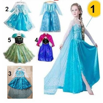 Fantasia Vestido Princesa Elsa Frozen Luxo Pronta Entrega