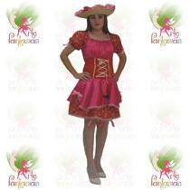 Vestido Junino Caipira Adulto ° Festa Junina ° Catarina Rs