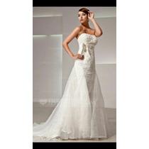 Calda Para Vestido De Noiva Em Organza.