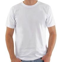 Kit 5 Camiseta Branca Algodao Uso Por Baixo Camisa Social