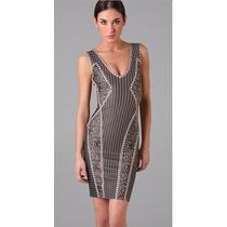 Vestido Herve Leger Rayone Moda Fashion + Pronta Entrega