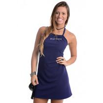 Vestido Frente Única Com Amarração - Kam Bess - Ve1102