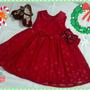 Vestido Cereja Da Cacau Baby Infantil Bebê Festas Confecção