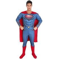 Fantasia Superman Premium Adulto Tam. G G ( 44 A 46)