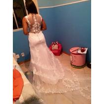 Vestido De Noiva Novo Importado