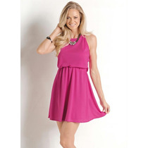 Vestido Curto De Festa Delicado Barato Rosa Pink Lindo #top