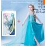 Fantasia Vestido Frozen Elsa Ou Ana Com Acessorios V Mod Cor