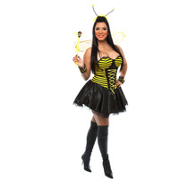 Fantasia De Abelhinha Sexy,abelha,vestido,pierrot Fantasias