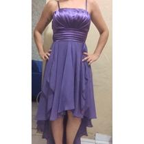 Vestido Social Lilás Para Casamentos E Festas