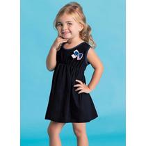 Vestido Infantil Menina - Roupa Para Seu Bebe 1/2/3 Anos