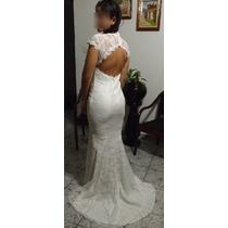 Vestido De Noiva - Pronta Entrega - Novo