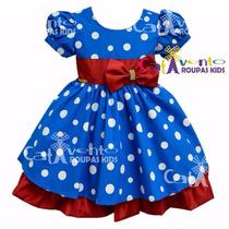 Vestido Festa Infantil Tema Galinha Pintadinha Com Tiara