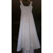 Vestido De Noiva Cor Perolada