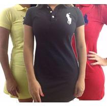Promoção Vestido Feminino Polo Ralp Laren P, M, G, Gg