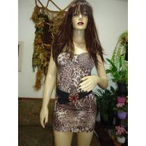Vestido Oncinha, Malha De Verão, Leve, Confortável E Lindo!!