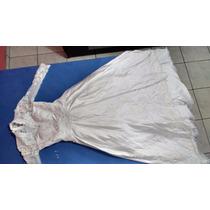 Vestido De Noiva Em Renda E Cetim Branco