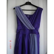 Vestido Longuete Roxo E Lilás - Boutique Idéia Fixa
