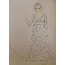 Vestido De Noiva Atelier Casa Vians - Croqui Para Confecção