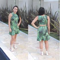 Vestido Curto Rodado !!! Fashion Elegante Lindo