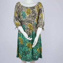 Vestido Feminino Estampado Floral Tecido Leve Nota Fiscal