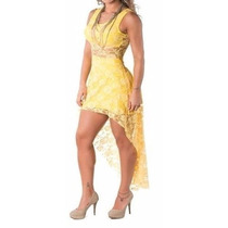 Compre 1 Leve 2 Lindo Vestido Show Balada Renda Noite Festa