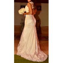 Vestido De Noiva Bordado Estilo Sereia
