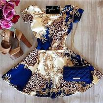 Vestido Princesa Gode Floral , Blogueira,panicats,oriental