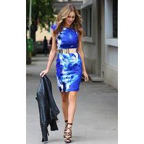 No Brasil Vestido Floral Zara Inspired Shift Neoprene 2015