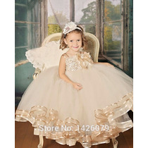 Vestido Infantil Daminha De Casamento Vestido Para Meninas